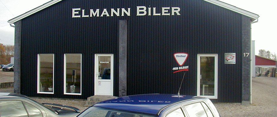 Bil værksted, Elmann Biler kontor